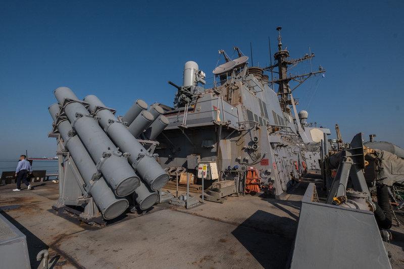 Το αντιτορπιλικό USS MCFAUL