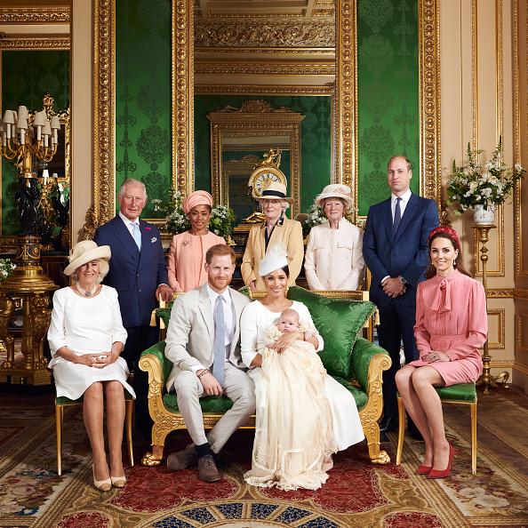 Βάφτιση Αρτσι, οικογενειακή φωτογραφία της βασιλικής οικογένειας