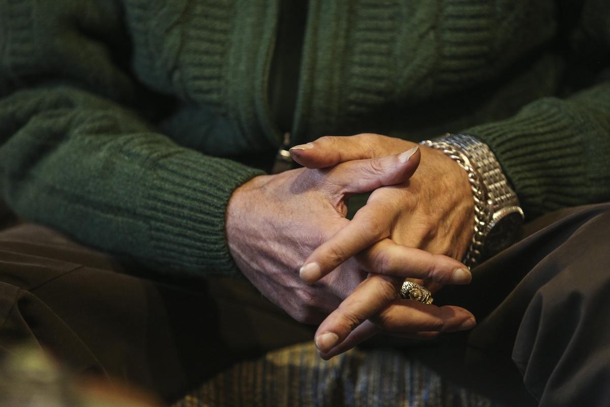 Τα χέρια του Στέλιου Βαμβακάρη