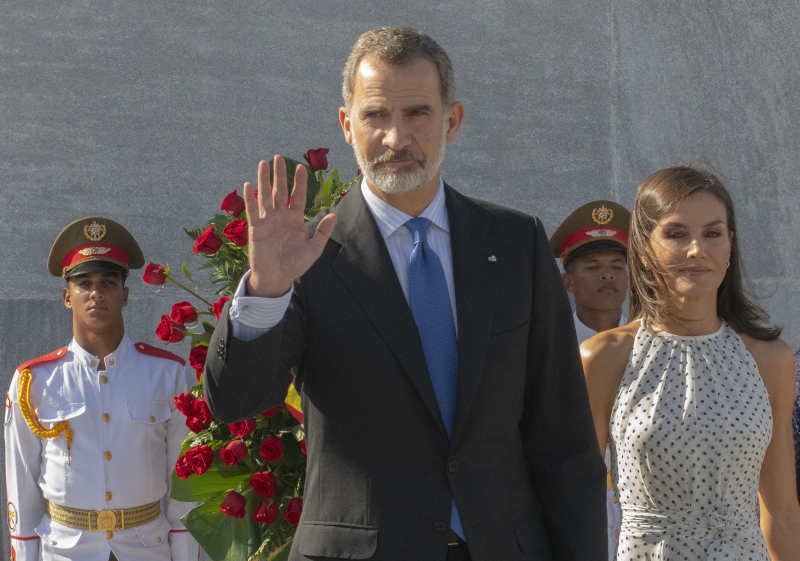 Ο βασιλιάς Φελίπε της Ισπανίας