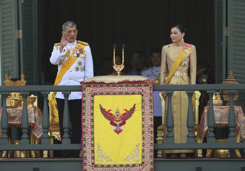 Ο βασιλιάς  Μάχα Βατζιραλόνγκορν κι η βασίλισσα Σουτίντα της Ταϊλάνδης