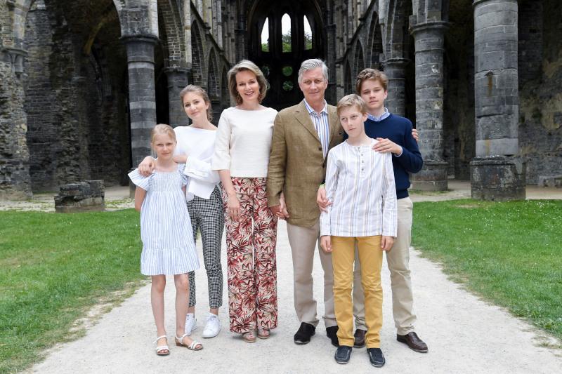 Η βασιλική οικογένεια του Βελγίου