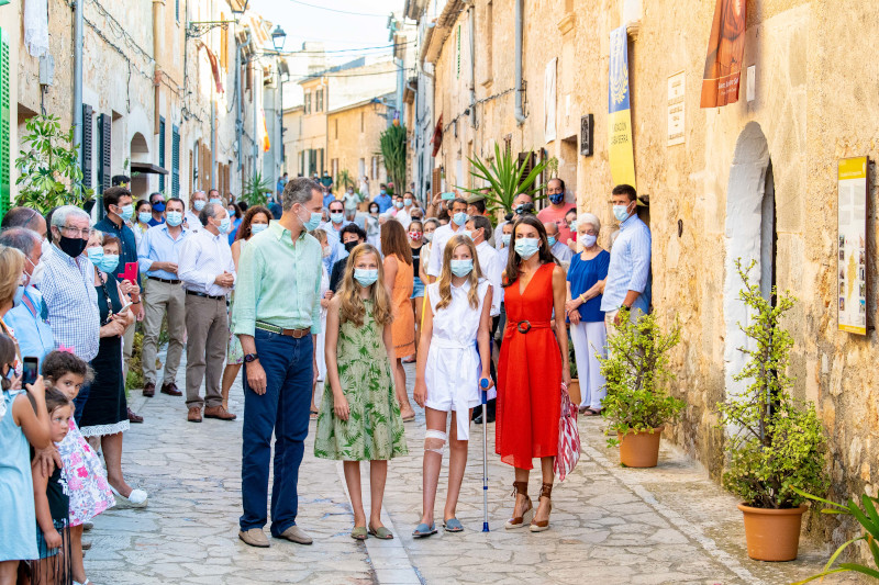 Η βασιλική οικογένεια της Ισπανίας άφησε πίσω τα προβλήματα και αποφάσισε να πάει για διακοπές στην Μαγιόρκα