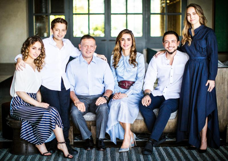 Η βασσιλική οικογένεια της Ιορδανίας