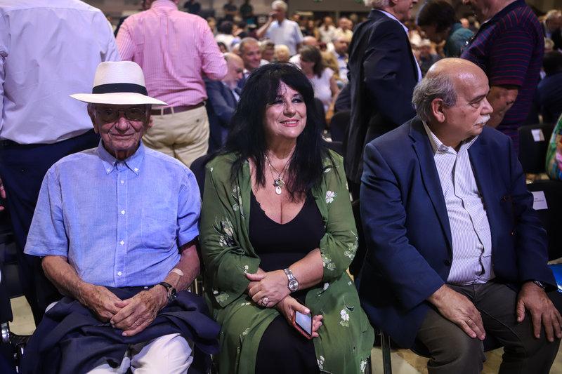 Βασίλης Βασιλικός, Αννα Βαγενά, Νίκος Βούτσης στη ΔΕΘ 2019