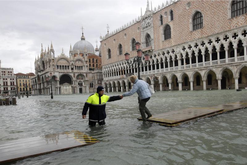Πλημμύρες στη Βενετία