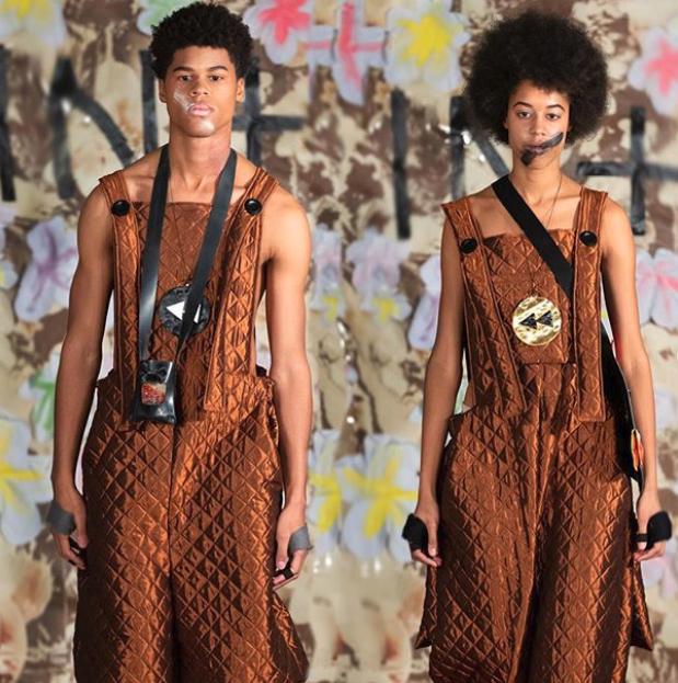 Κάποια από τα κομμάτια της κολεξιόν που θα παρουσιαστεί στην εβδομάδα μόδας του Λονδίνου