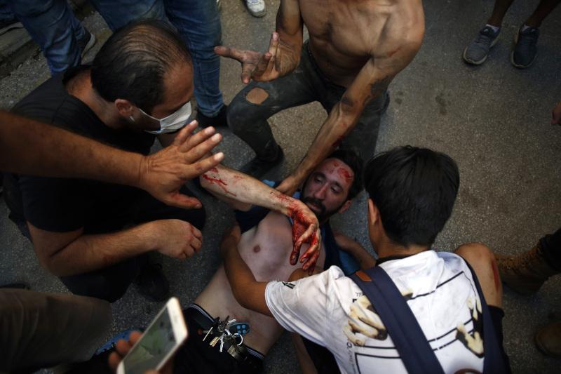 Βηρυτός τραυματίες