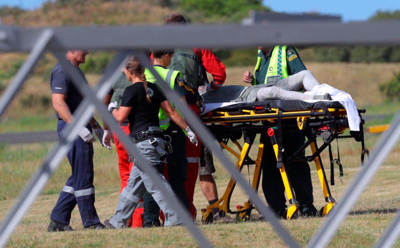 Οι γιατροί στη Νέα Ζηλανδία δυσκολεύτηκαν να ταυτοποιήσουν πολλούς από τους τραυματίες λόγω της έκτασης εγκαυμάτων.