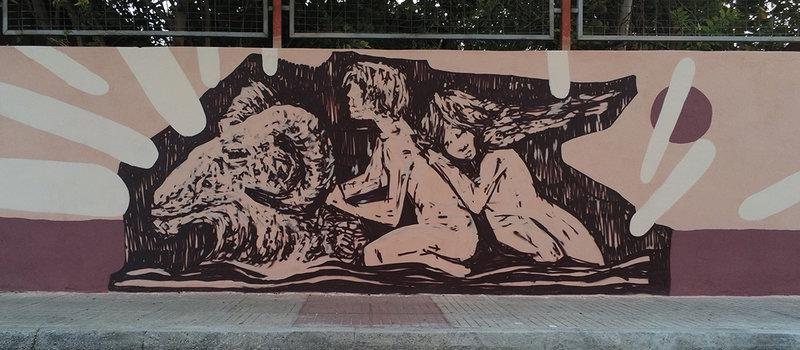 Γκράφιτι στον Βόλο