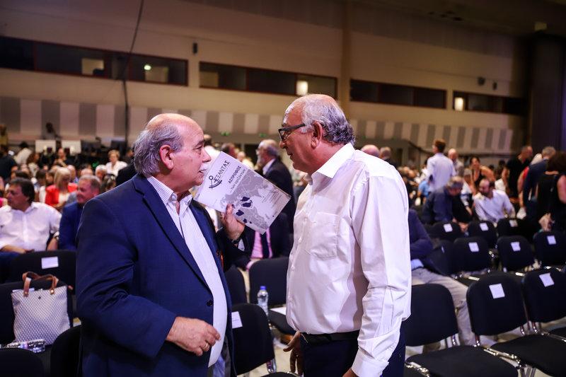 Νίκος Βούτσης, Γιάννης Αμανατίδης στη ΔΕΘ 2019