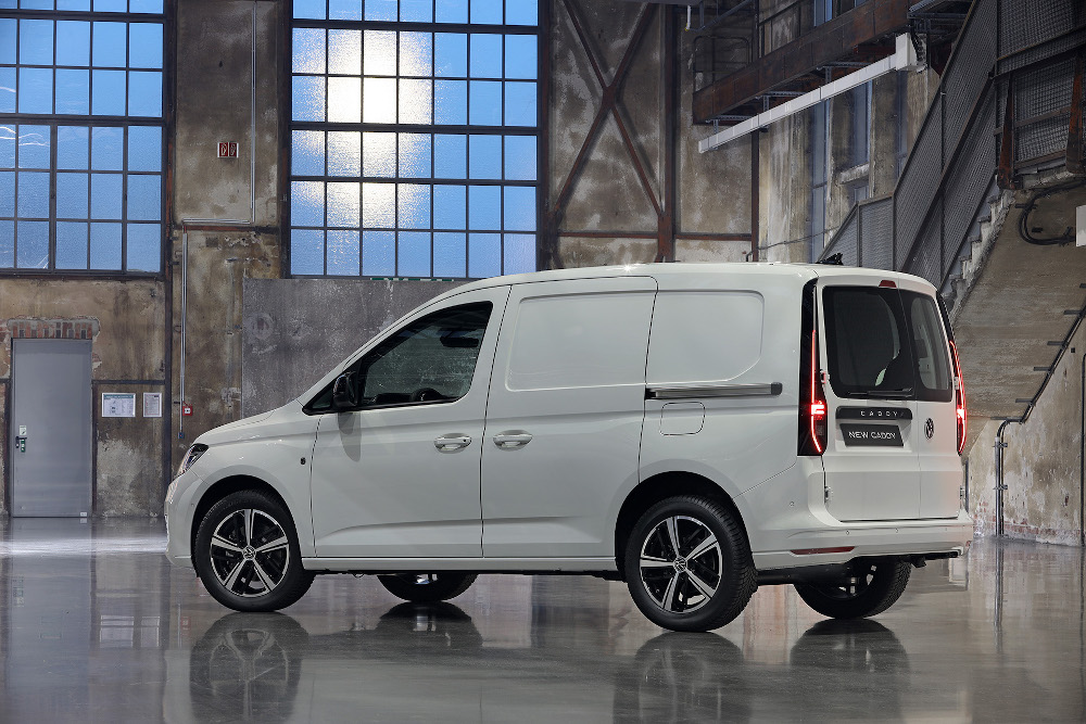 H VW παρουσιάζει το νέο Caddy