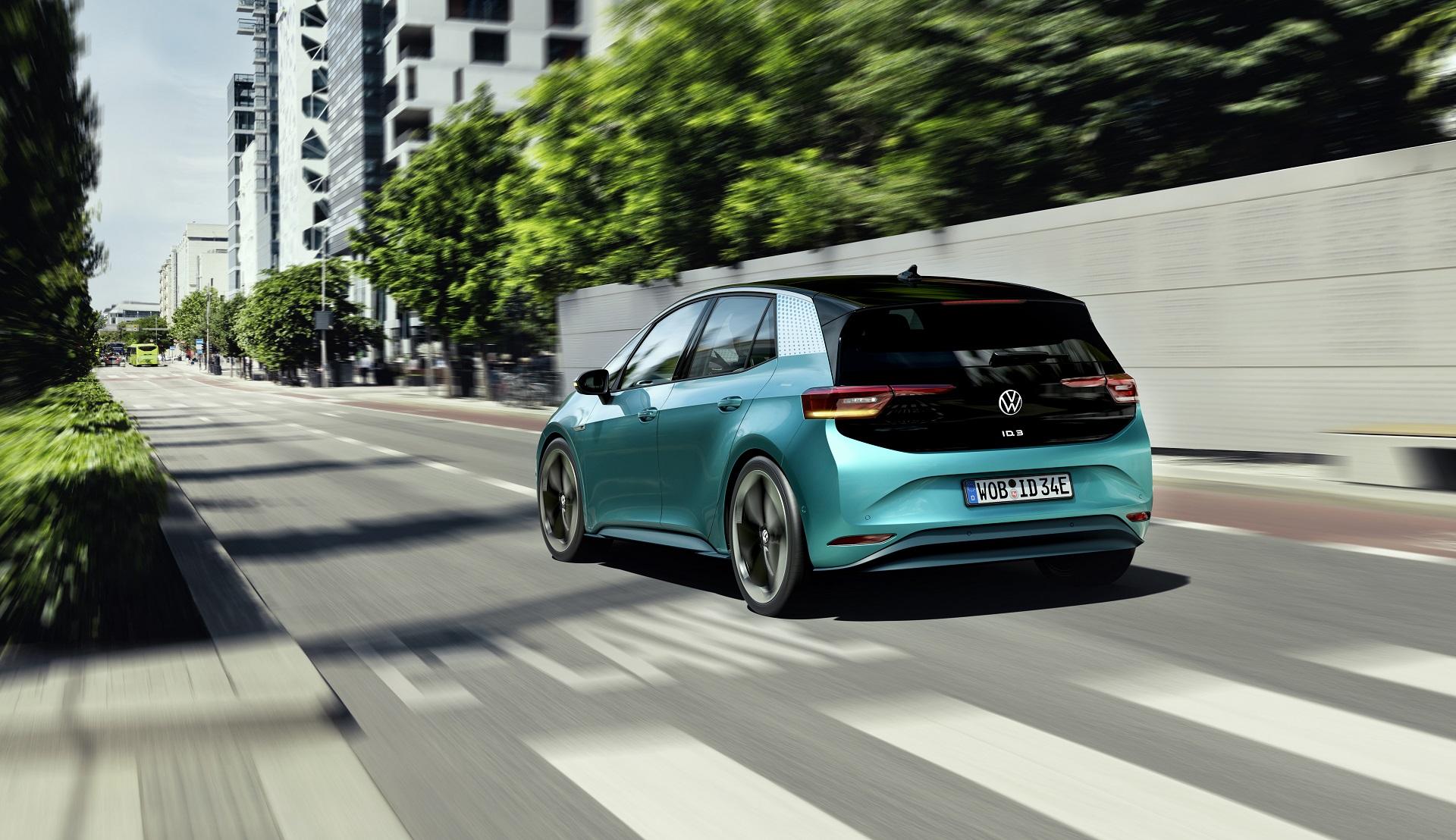H Volkswagen αποκαλύπτει το ηλεκτρικό ID.3 [εικόνες]
