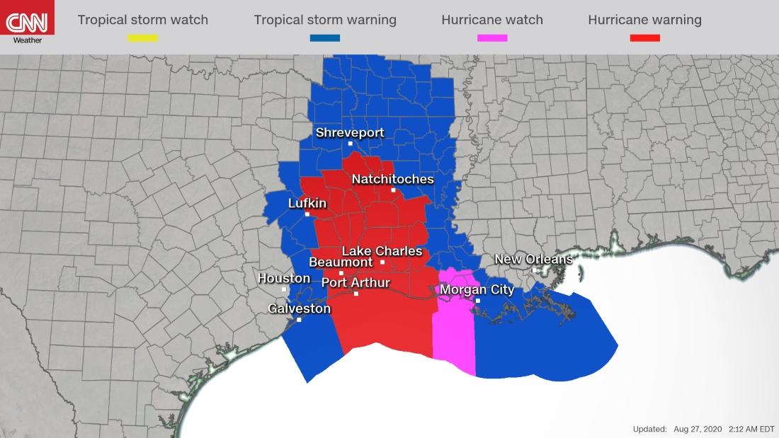 Ο τυφώνας Λόρα «χτυπάει» Λουιζιάνα, Τέξας: Θα σηκώσει υδάτινο τείχος 6 μέτρων, χιλιάδες εγκαταλείπουν τα σπίτια τους [live] | ΚΟΣΜΟΣ