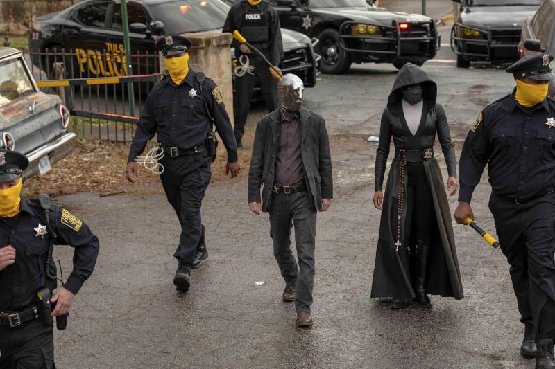 Στιγμιότυπο από τη σειρά Watchmen