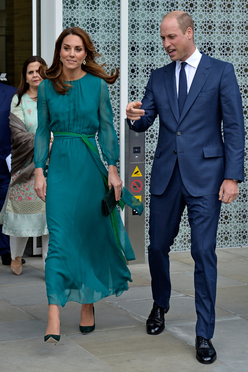 Πρίγκιπας Γουίλιαμ και πριγκίπισσα Νταϊάνα ξεκινούν σήμερα περιοδεία στο Πακιστάν, την πρώτη μετά από 13 χρόνια