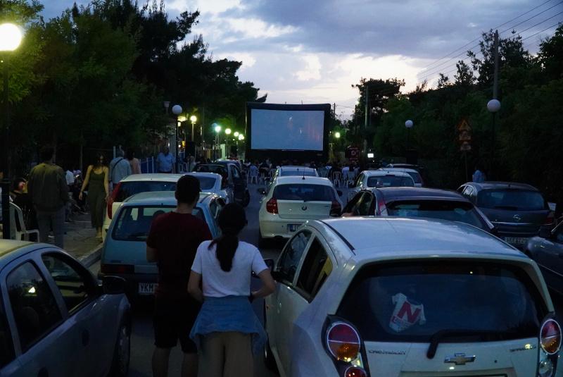 Drive in σινεμά στο Χαϊδάρι