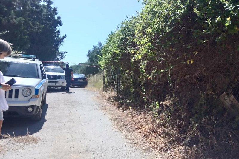 Το σημείο όπου εντοπίστηκε νεκρή η 60χρονη Σούζαν Ιτον