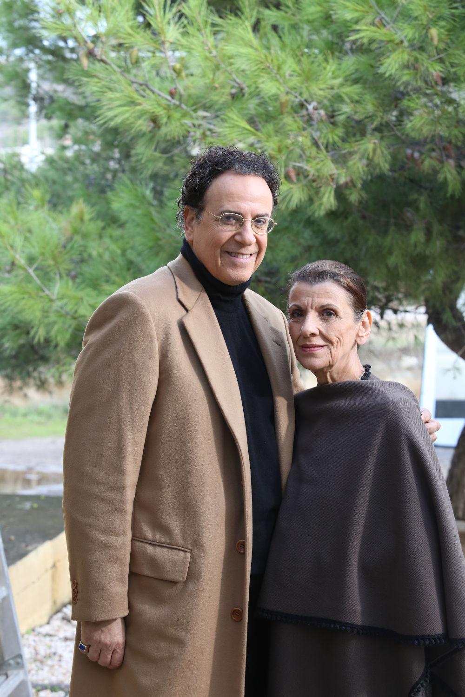 Χάρης Ρώμας και Μαρία Κανελλοπούλου και πάλι μαζί για τα γυρίσματα της σειράς «Το Καφέ της Χαράς»