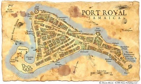 Χάρτης του Port Royal