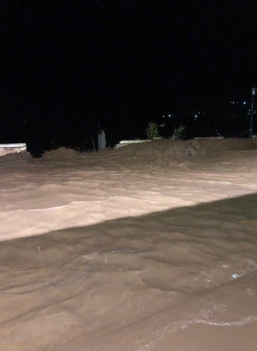 Πλημμύρες τη νύχτα στη Κεφαλονιά