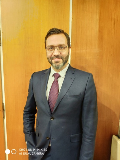 Ο Δρ. Στέφανος Λαζαρίδης