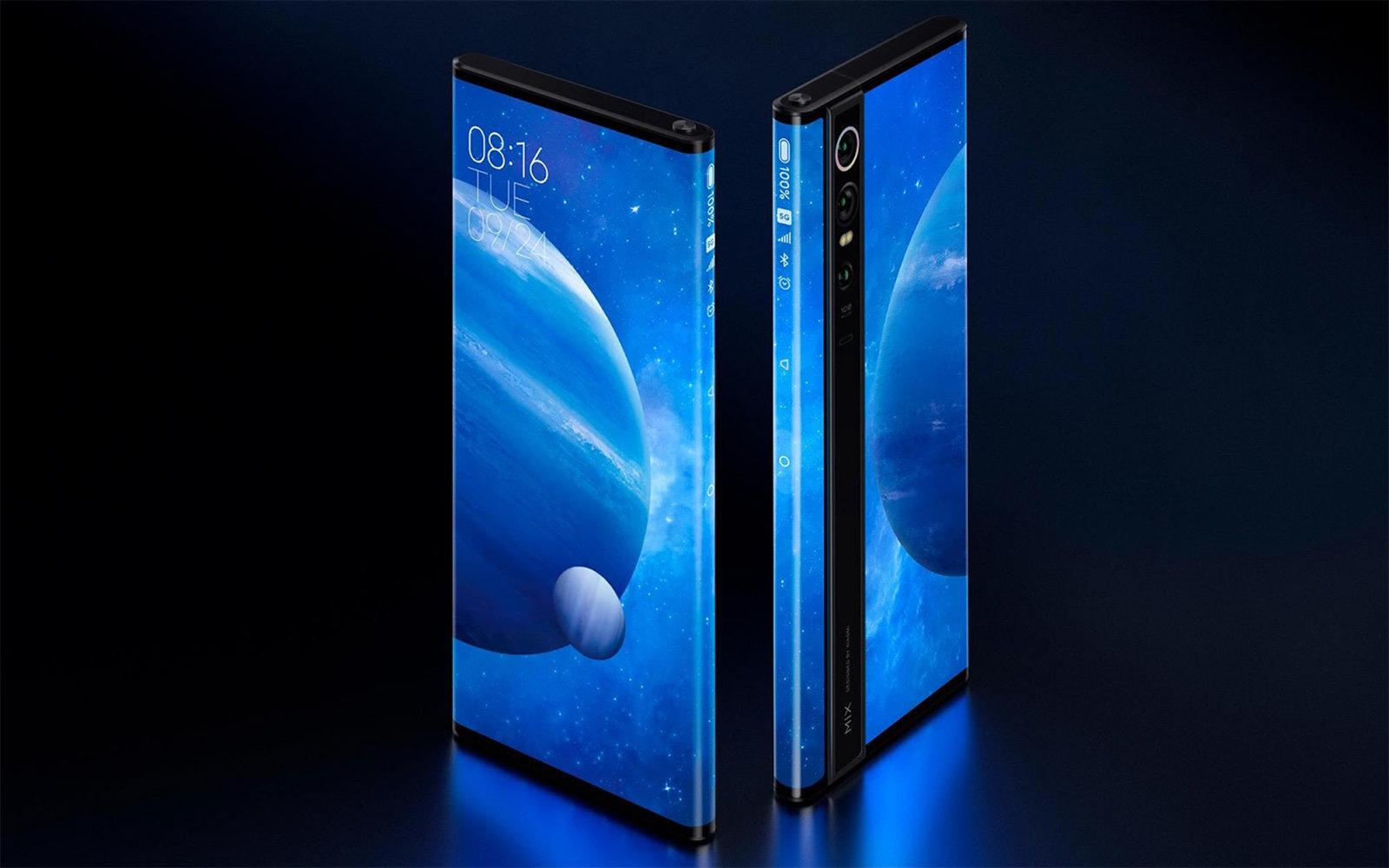 Το νέο κινητό με οθόνη και στην μπροστινή, αλλά και στην πίσω επιφάνεια