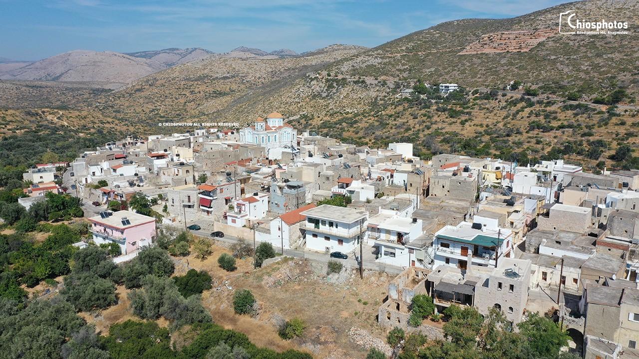 χωριο από ψηλα