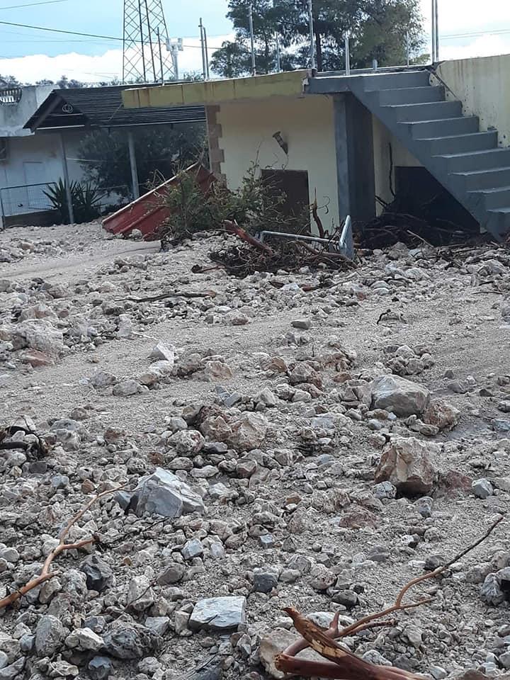 Ζημιές σε κατοικία στην Κινέτα