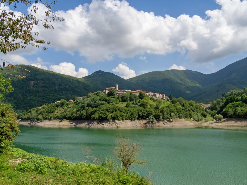 Η λίμνη Vagli