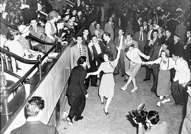 Χορός Swing στη Νέα Υόρκη (Φωτογραφία: Alan Fisher, 1938)
