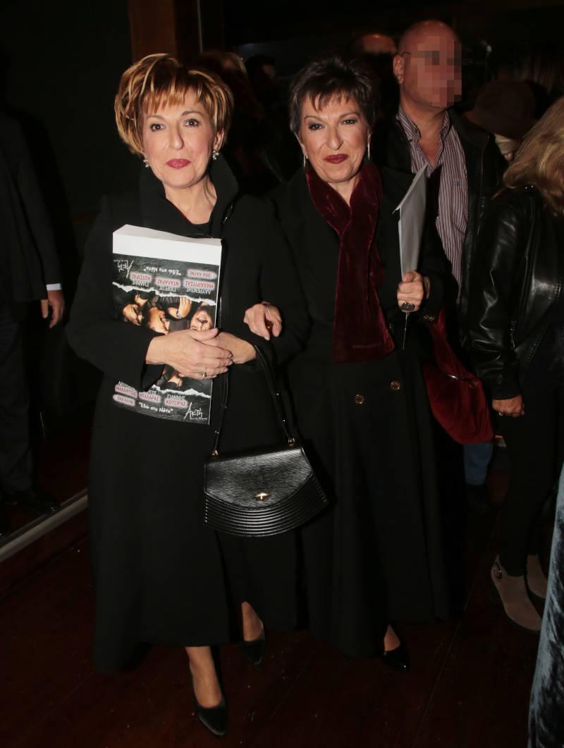 Χριστίνα και Ιωάννα Μάνδρου σε κοινή τους έξοδο / Φωτογραφία: NDP Photos