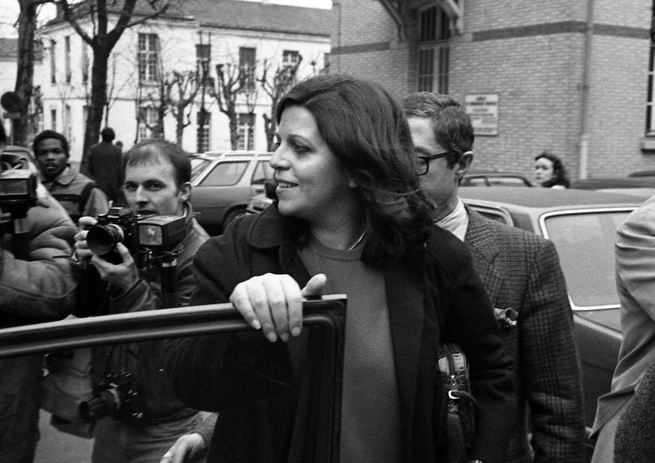 Η Χριστίνα Ωνάση στο Παρίσι - Ασπρόμαυρη φωτογραφία