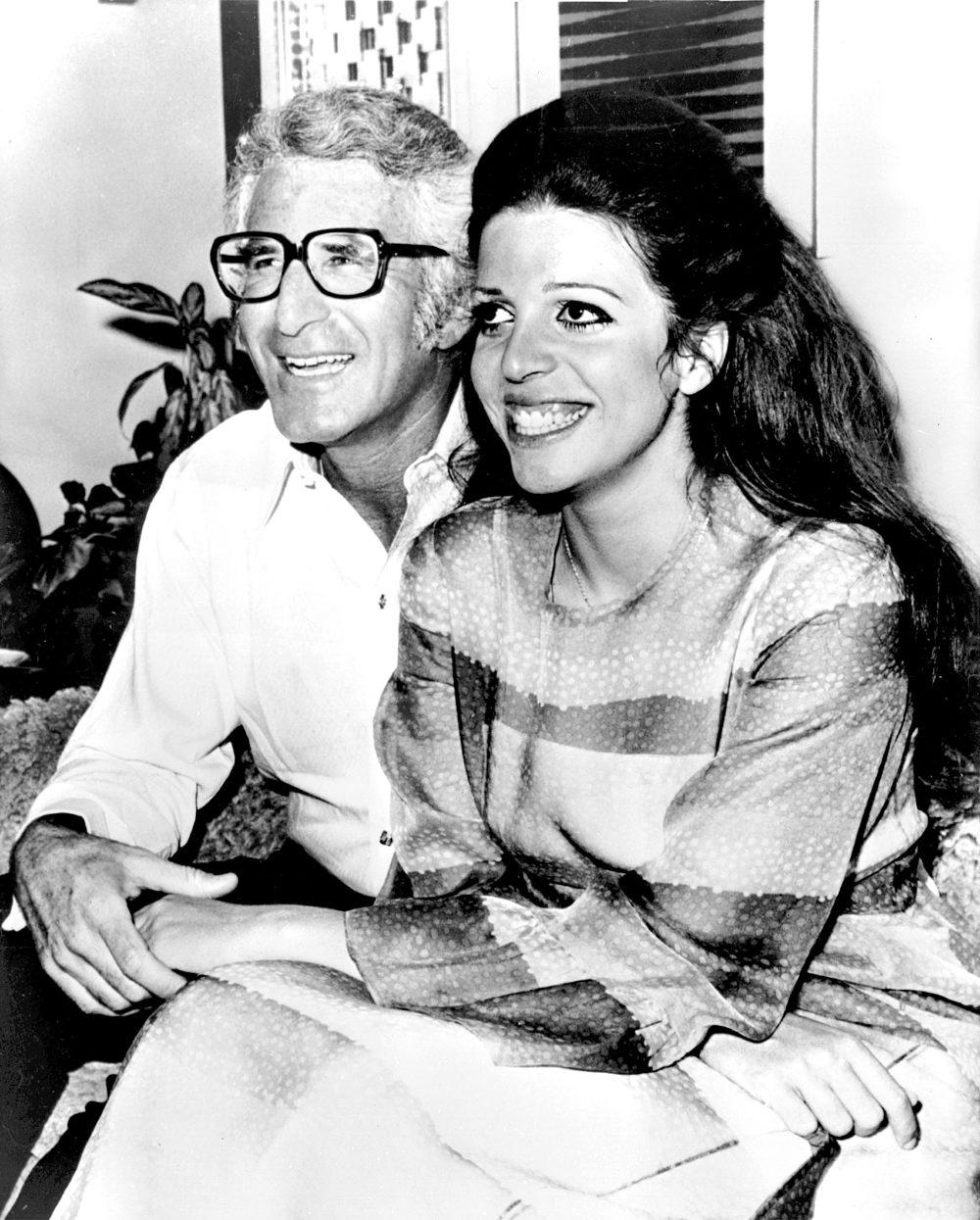 Η Χριστίνα Ωνάση σε ασπρόμαυρη φωτογραφία με τον πρώτη της σύζυγο