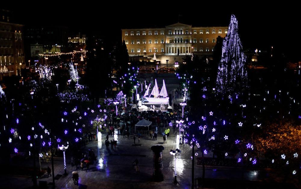 Καραβάκι για τα Χριστούγεννα του 2013