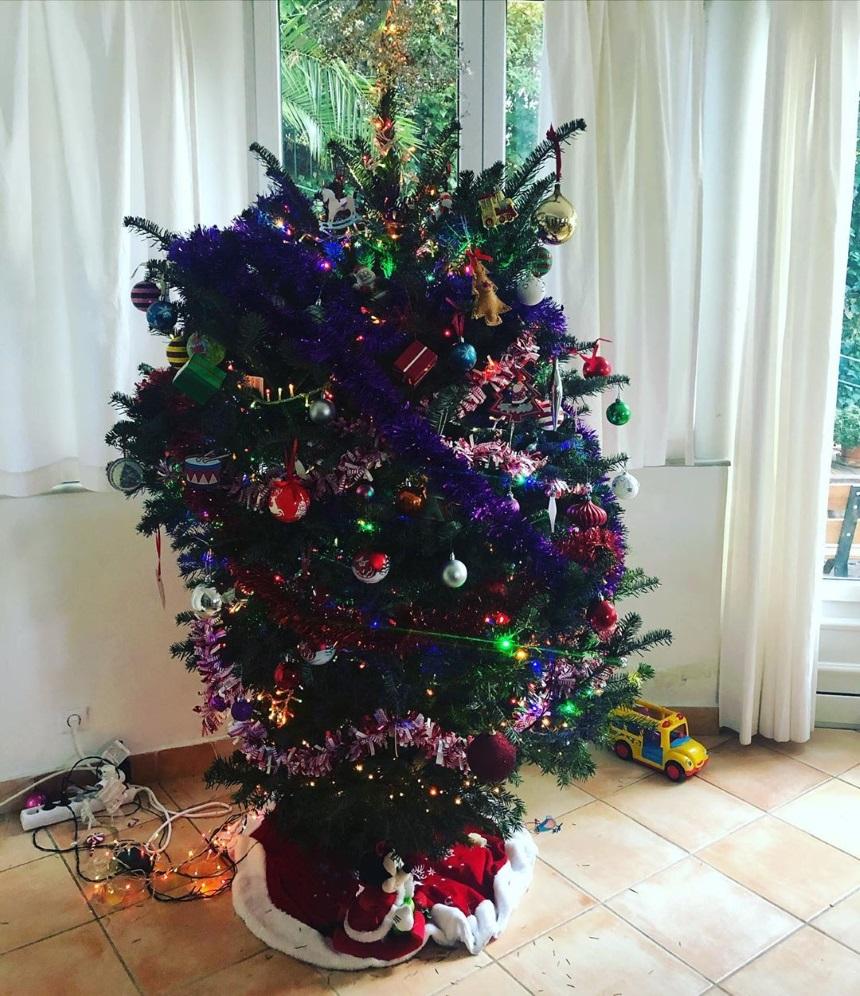 Χριστουγεννιάτικο δέντρο Αθηναϊς Νέγκα