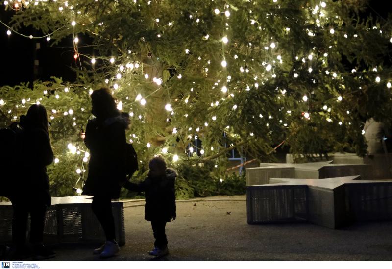 Χριστουγεννιάτικο στολισμός στην Θεσσαλονίκη
