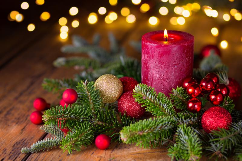 χριστουγεννι.άτικο κερί