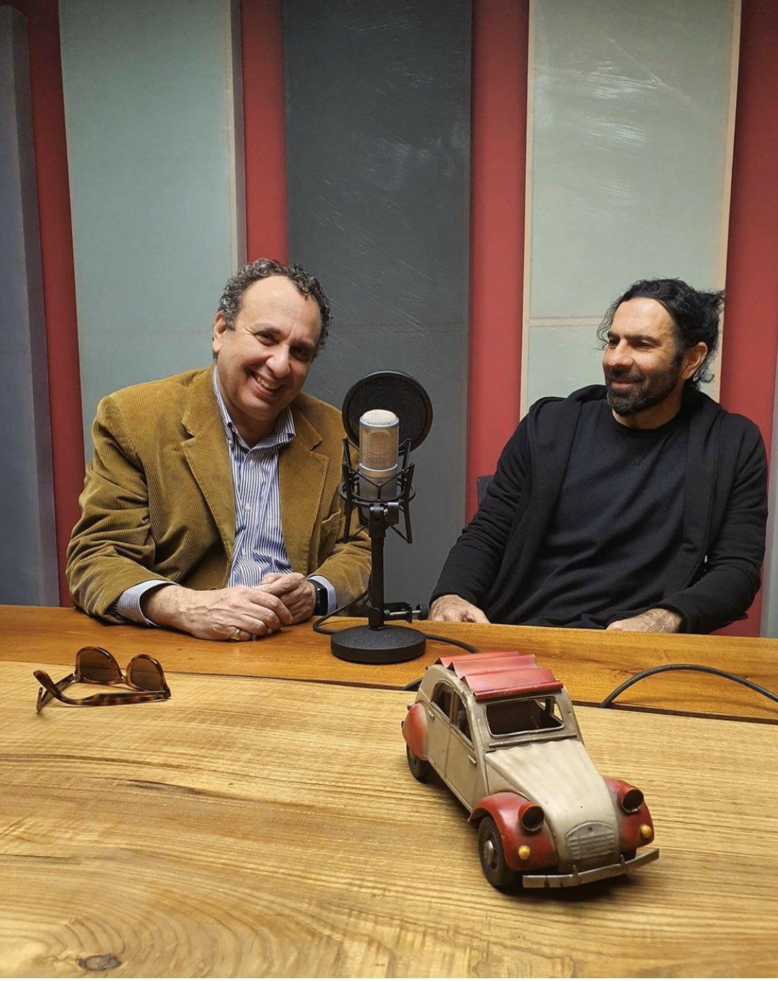 Ο Χρήστος Χωμενίδης με τον Χρήστο Σούμκα