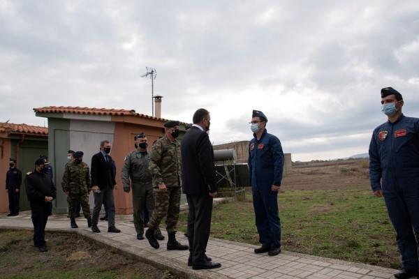 Σε μονάδες των Ενόπλων Δυνάμεων στη Λήμνο ο ΥΠΕΘΑ Ν. Παναγιωτόπουλος