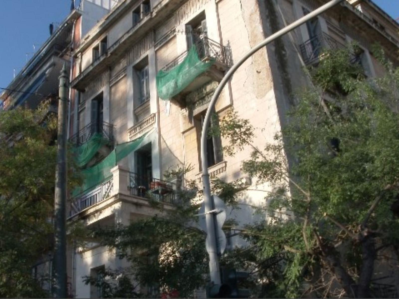 Το κτίριο που ήταν υπό κατάληψη