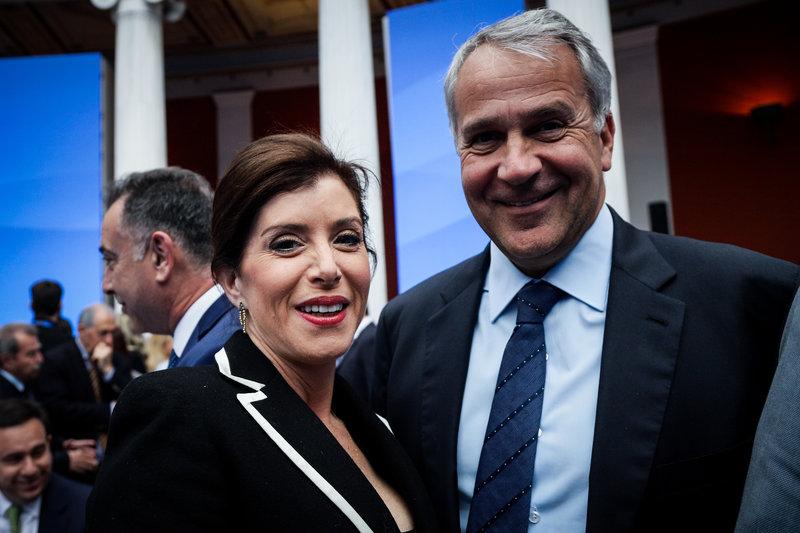Αννα Μισέλ Ασημακοπούλου και Μάκης Βορίδης