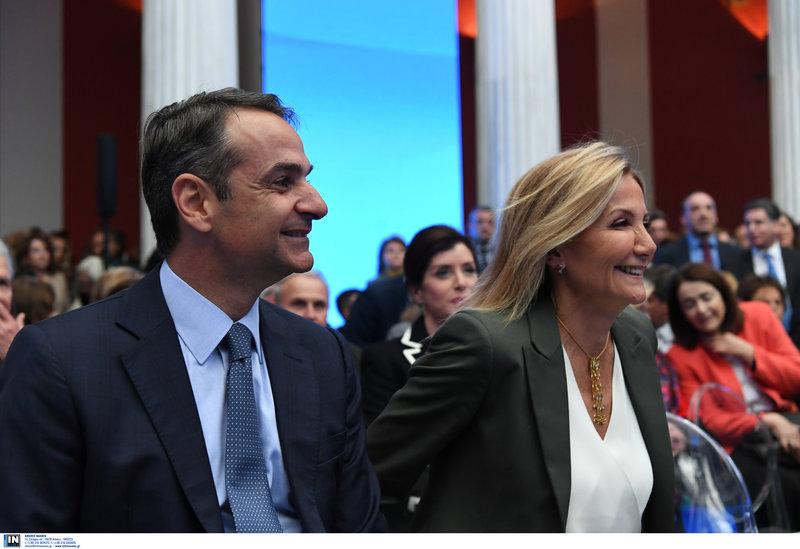 Κυριάκος και Μαρέβα Μητσοτάκη