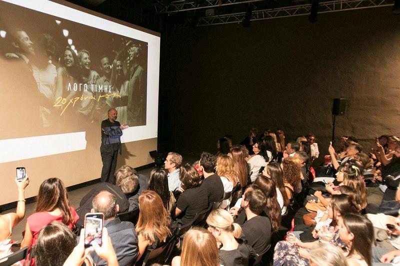 Ο Λάμπης Ζαρουτιάδης, σκηνοθέτης της σειράς «Λόγω Τιμής», λίγο πριν την προβολή του πρώτου επεισοδίου
