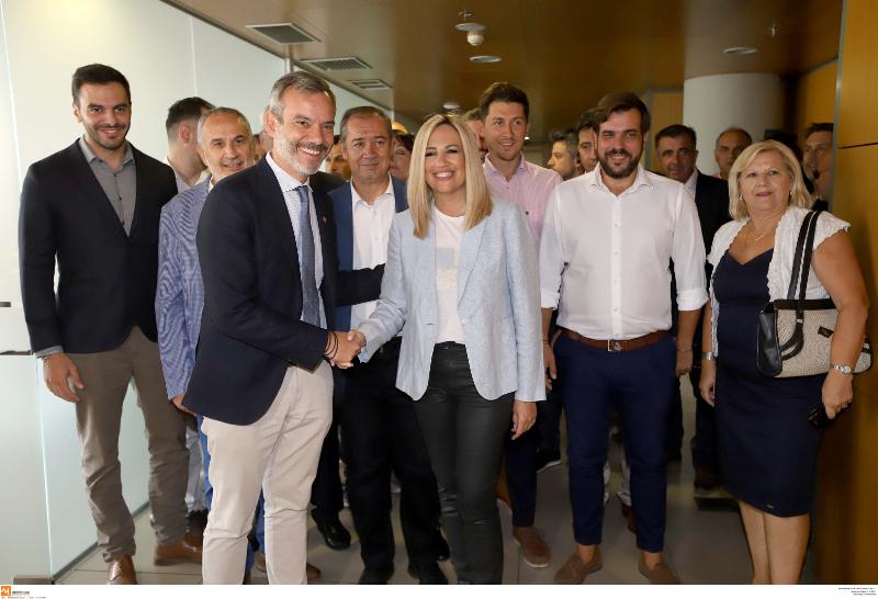 Συνάντηση Φώφης Γεννηματά με τον δήμαρχο Θεσσαλονίκης, Κωνσταντίνο Ζέρβα