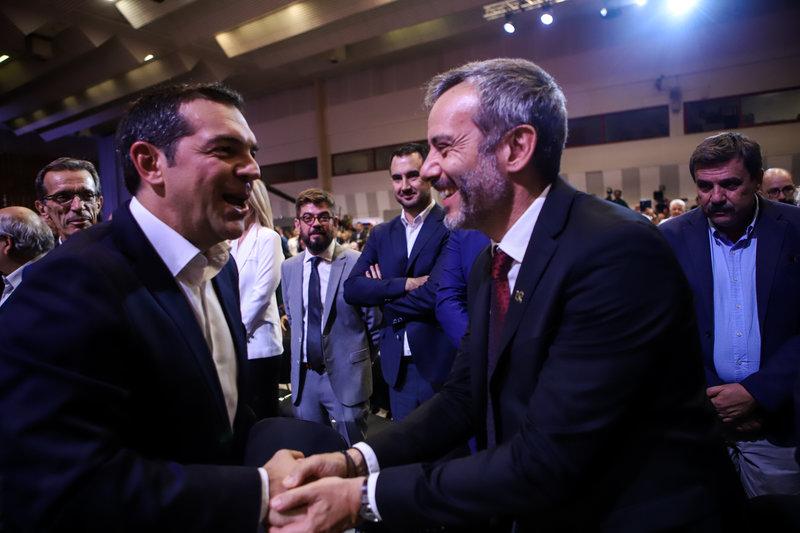 Αλέξης Τσίπρας Κωνσταντίνος Ζέρβας στη ΔΕΘ 2019