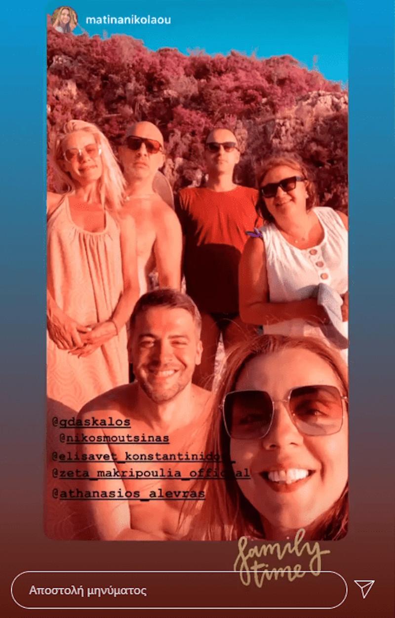 Ζέτα Μακρυπούλια, Ελισάβετ Κωνσταντινίδου, Ματίνα Νικολάου, Νίκος Μουτσινάς, Θανάσης Αλευράς και Γιώργος Δάσκαλος