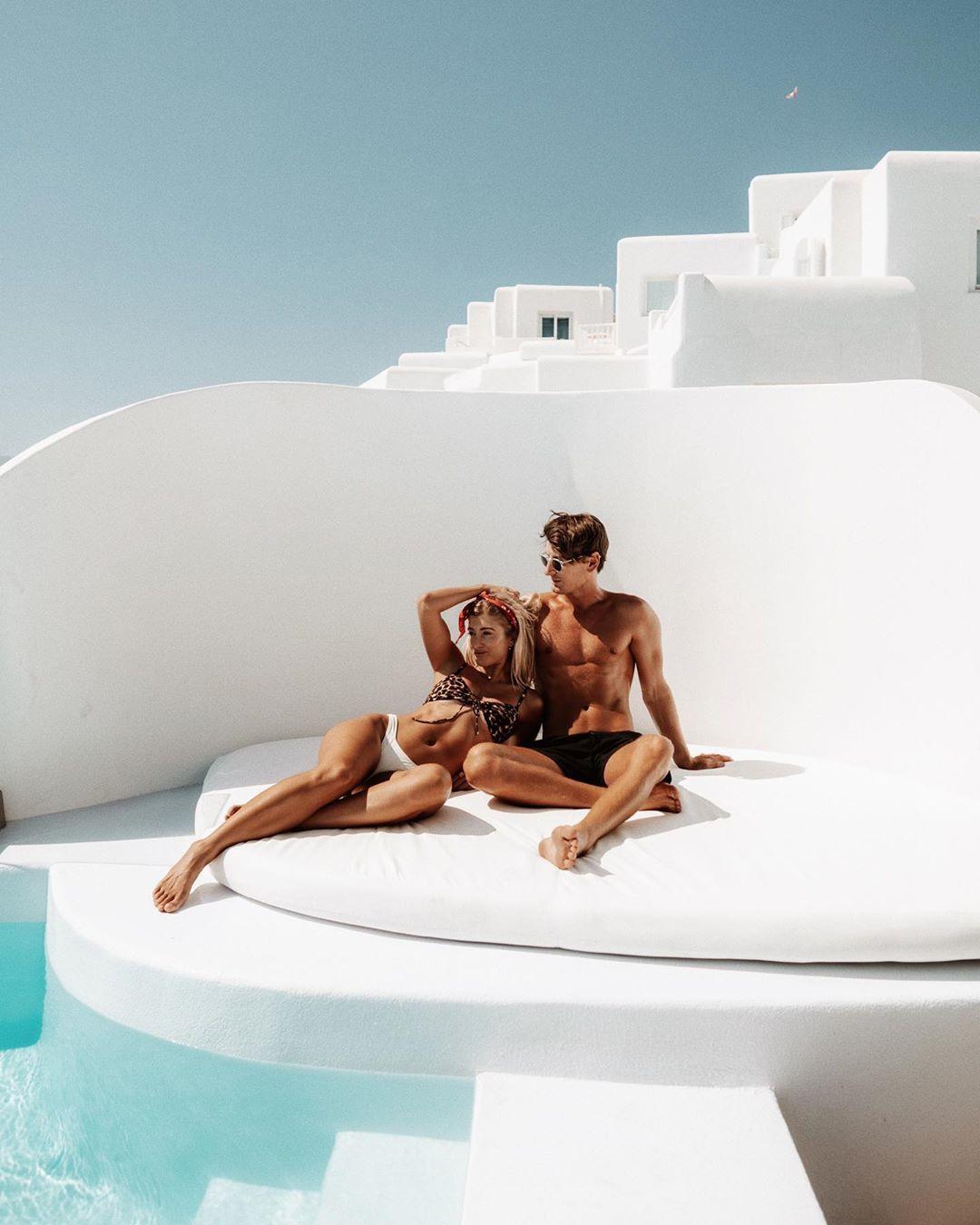 Ο Τζακ και η Λόρεν απολαμβάνουν τον ελληνικό ήλιο στη Μύκονο