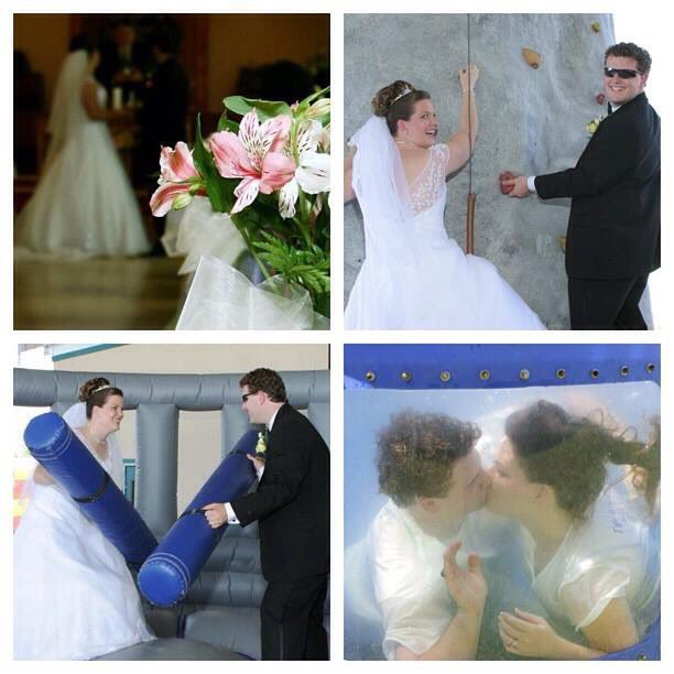 Εικόνες από τον γάμο του ζευγαριού πριν από 14 χρόνια
