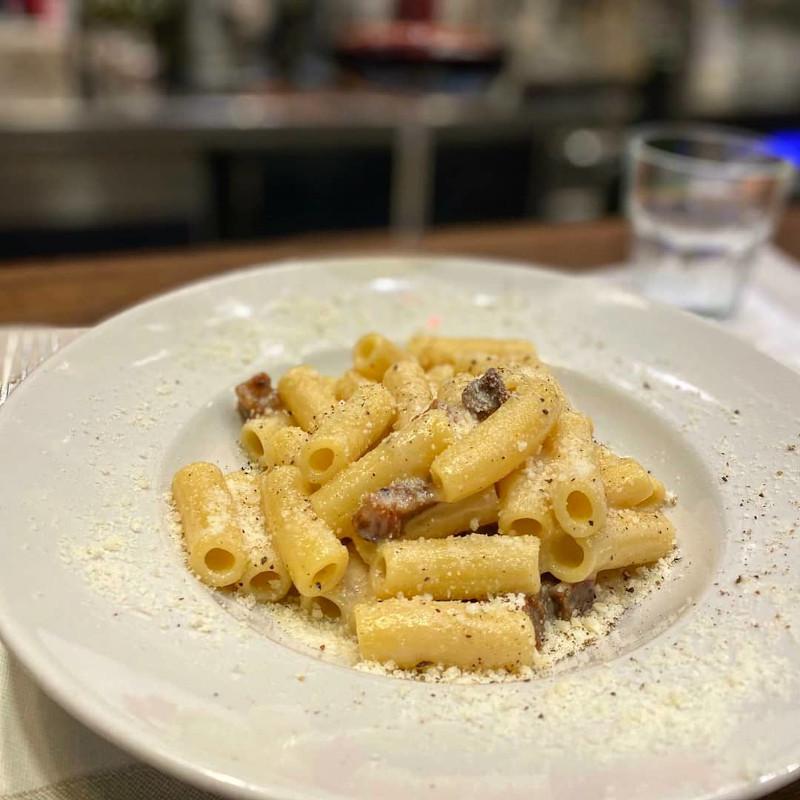 Il piatto autentico di Amatrice sono gli spaghetti alla gritsia